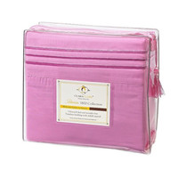 22Pink 1800 Ct Deep Pocket Bed Sheet Set Pink