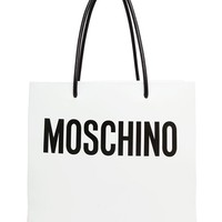 MOSCHINO | Leather Shopping Bag | Browns fashion & designer clothes & clothing