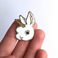 Bunicorn Pin
