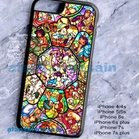 New All Disney Heroes Stained Movie Print On Hard Case Cover For iPhone 6/6s