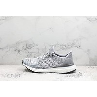 Adidas Ultra Boost 3.5 Gray Running Shoes