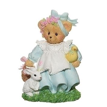 Cherished Teddies Easter Figurine Adddie-12922