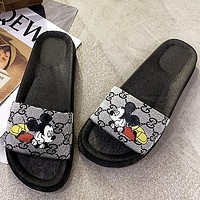 Gucci 2020 new style slippers slippers on the seaside soft bottom non-slip sand shoes