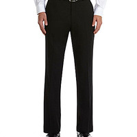 Perry Ellis Flat-Front Corded Pants