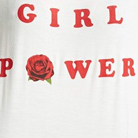 Girl Power Rose Graphic Tee