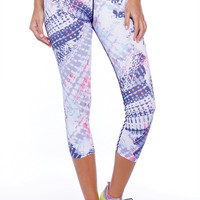 Get Fit Purple Rain Yoga Pants