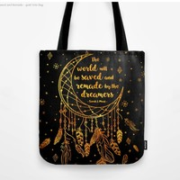 Saved and Remade - gold by Stella Bookish Art