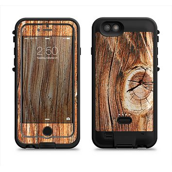 The Knobby Raw Wood  iPhone 6/6s Plus LifeProof Fre POWER Case Skin Kit