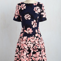Fleur Curriculum Dress in Carnation