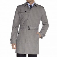Prince of Wales Trench Coat - Outerwear - Shop By Product - Men | Hackett