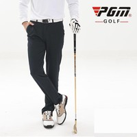 PGM Colorful Golf Pants For Men Solid Polyester Winter Waterproof Thicker Man's Golf Sports Pants Trousers Clothes Free Shipping