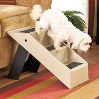 Portable Folding Pet Dog/Cat Stair Steps Ramp Bed, Sofa & Chair Access Compact