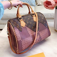 LV Louis Vuitton Fashion Women Shopping Handbag Tote Shoulder Bag Crossbody Satchel