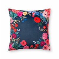 Rifle Paper Co. Juliet Rose Wreath Pillow
