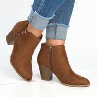 Habit Stacked Heel Booties