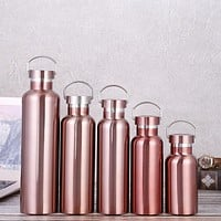 All-Steel Cup, Stainless Steel Vacuum Flask, Outdoor Sports Bottle, Portable Portable Water Cup 304