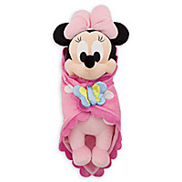 Disney's Babies Minnie Mouse Plush Doll and Blanket - Small - 11''