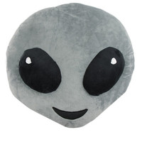 ALIEN EMOJI PILLOW