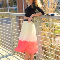 Color Block It Skirt
