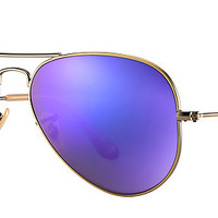 Ray-Ban RB3025 167/1M 58-14 AVIATOR FLASH LENSES Bronze-Copper sunglasses   Official Online Store US