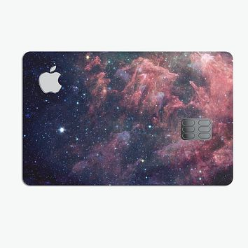 Colorful Deep Space Nebula - Premium Protective Decal Skin-Kit for the Apple Credit Card