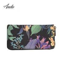 AMELIE GALANTI 2017 new fashion flower day clutches multilayer wallet women bag free shipping