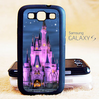 Disney Castle Phone Case For Samsung Galaxy S6/S5/S4/S3/S2/S5 mini/S4 mini/S3 mini/S5 Active/S4 Active/Note 4/Note 3/Note 2/Ace 3/Ace 2/Ace