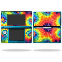 Skin Decal Wrap cover for Nintendo 3d s sticker Tie Dye 2