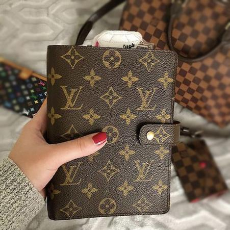 Image of Louis Vuitton Classic LV Memo Notebook Book