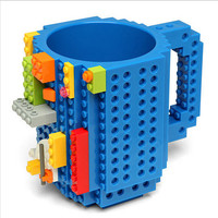ThinkGeek Build-On Brick LEGO Mug
