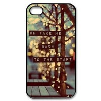 COLDPLAY Hard Plastic Back Cover Case for iphone 4 4s