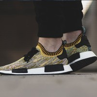 "Nmd R1 Boost Runner Primeknit ""Black n Yellow"""