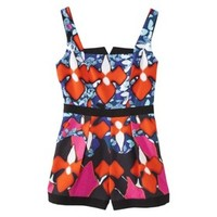 Peter Pilotto® for Target® Romper -Red Iris Print