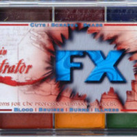 Skin Illustrator FX Palette   Professional Effects Makeup for Stage & Theatre   PNTA
