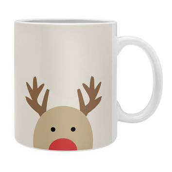 Allyson Johnson Reindeer Coffee Mug