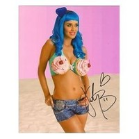 Katy Perry Signed In-person 8x10 Photograph Whip Cream