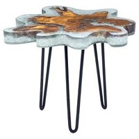 Jigsaw Side Table - Natural - Zuo Modern : Target