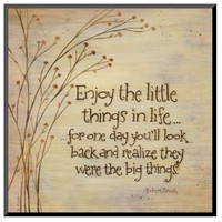 Art.com - Enjoy The Little Things
