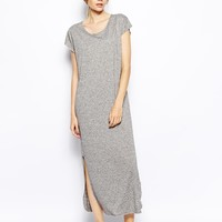 Selected Ivy Maxi Dress with Side Split -