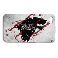 Game of Thrones Cute Wolf Cool Phone Case iPhone Cover Custom Winter is Coming