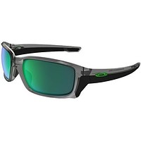 OAKLEY 9331 03 STRAIGHTLINK GREY INK GRIGIO TRASPARENTE JADE IRIDIUM SUNGLASSES