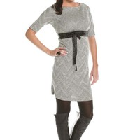 Jules And Jim Harris Chevron Maternity Sweater Dress