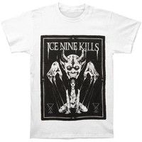 Ice Nine Kills Men's  Communion Of The Cursed T-shirt White Rockabilia