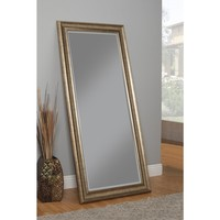 Sandberg Furniture Antique Goldtone Full-length Leaner Mirror | Overstock.com Shopping - The Best Deals on Mirrors