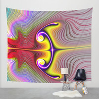 bow and arrow Wall Tapestry by Haroulita