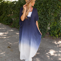 Simple Life Faded Oversized Dress CLEARANCE