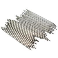 """NEW SALE 55PCS 11 Sizes 7.9"""" 20cm Double Pointed Stainless steel Knitting Needles Home Sewing Tools"""