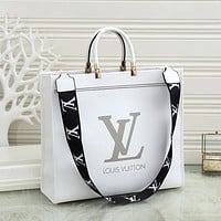 Louis Vuitton LV Women's Letter Print Shoulder Bag Messenger Bag
