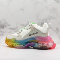 Balenciaga Triple S WMNS Rainbow Sneakers - Best Deal Online