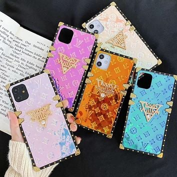 Louis Vuitton LV  Phone Cover Case For 7 7plus 8 8plus iPhone X XS XS max XR 11 Pro Max 12 mini 12 Pro Max